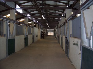 28 stall barn for horse boarding