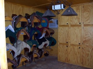 horse tack room horse stables