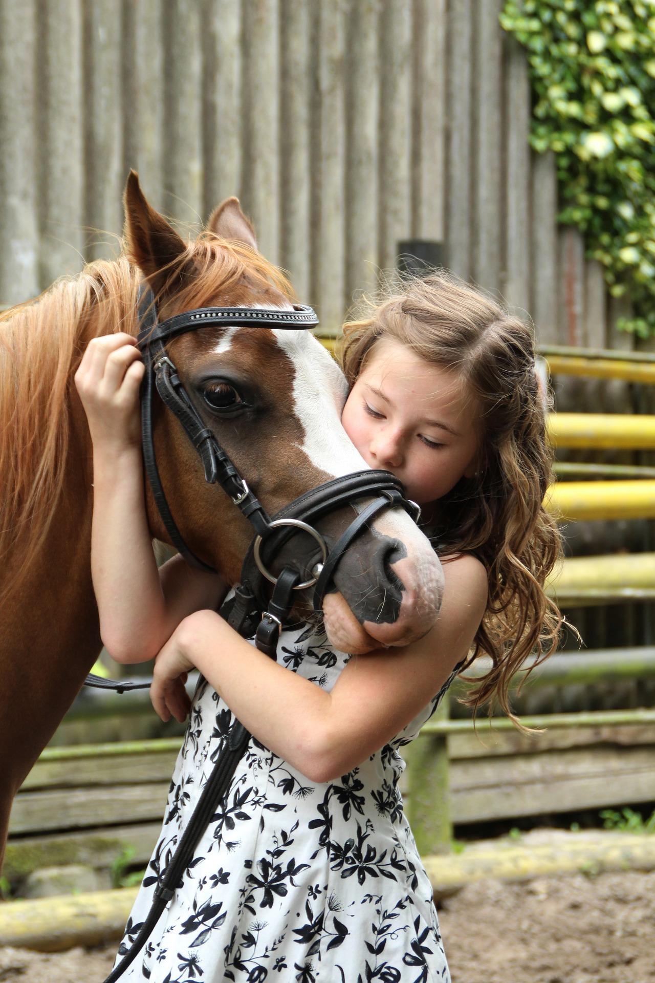 kids summer horse camp